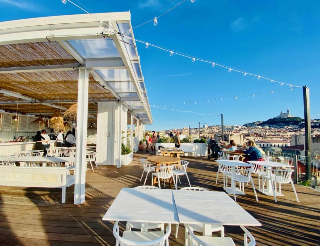 Ciel restaurant, Italian, city guide love spots (terrace)