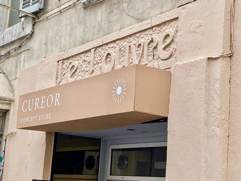 Cureor, responsible drugstore, city guide Marseille (the frontage)