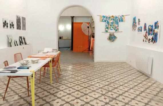 Solarium, art gallery in Marseille : overview