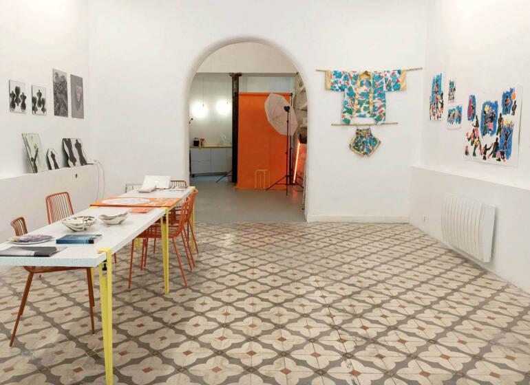 Solarium, galerie d'art à Marseille : vue d'ensemble