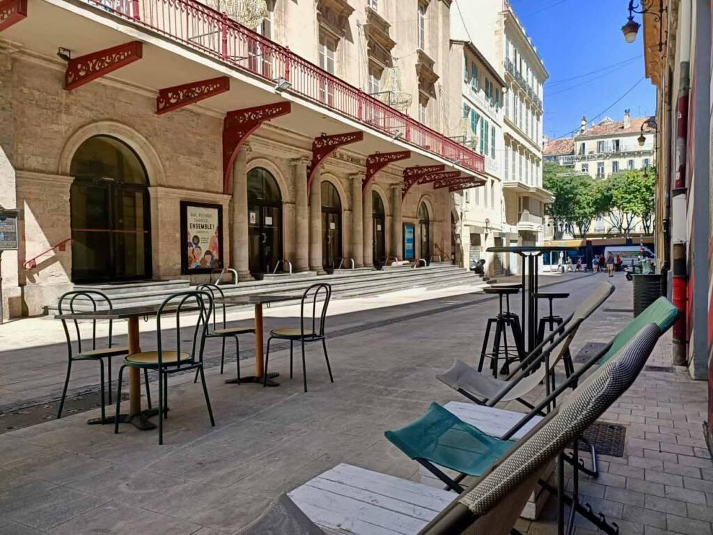 Tête de Chou, restaurant à tapas à Marseille : terrasse
