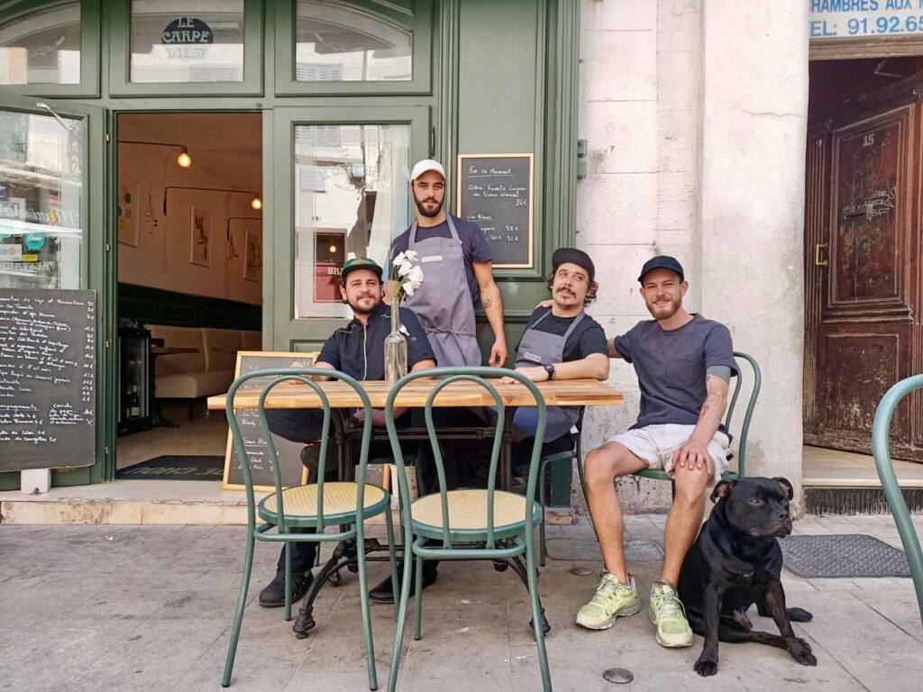 Tête de Chou, Tapas restaurant in Marseille : the team