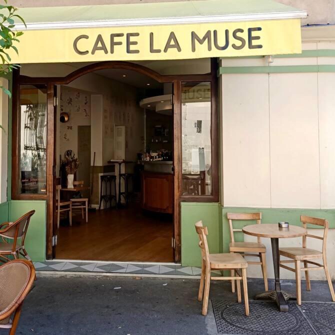 Café La Muse, café à Marseille : extérieur et terrasse
