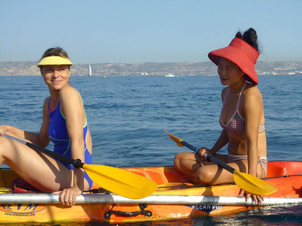 Sophie Cattani et Hélène Mohammed dans Malmousque de Dorothée Sebbagh, réalisatrice à Marseille