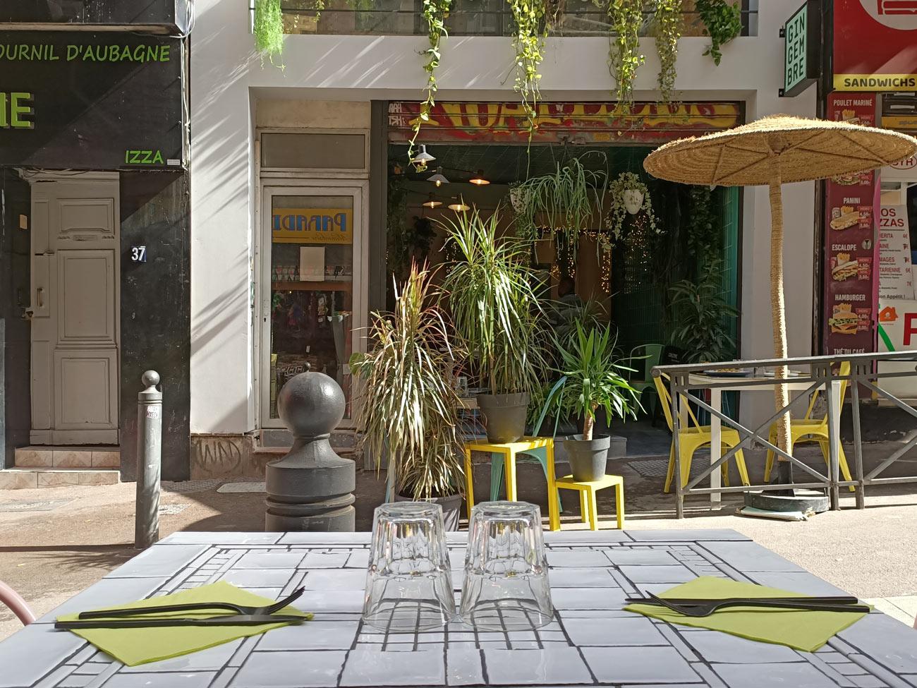 Gingembre, restaurant vietnamien à Marseille : extérieur