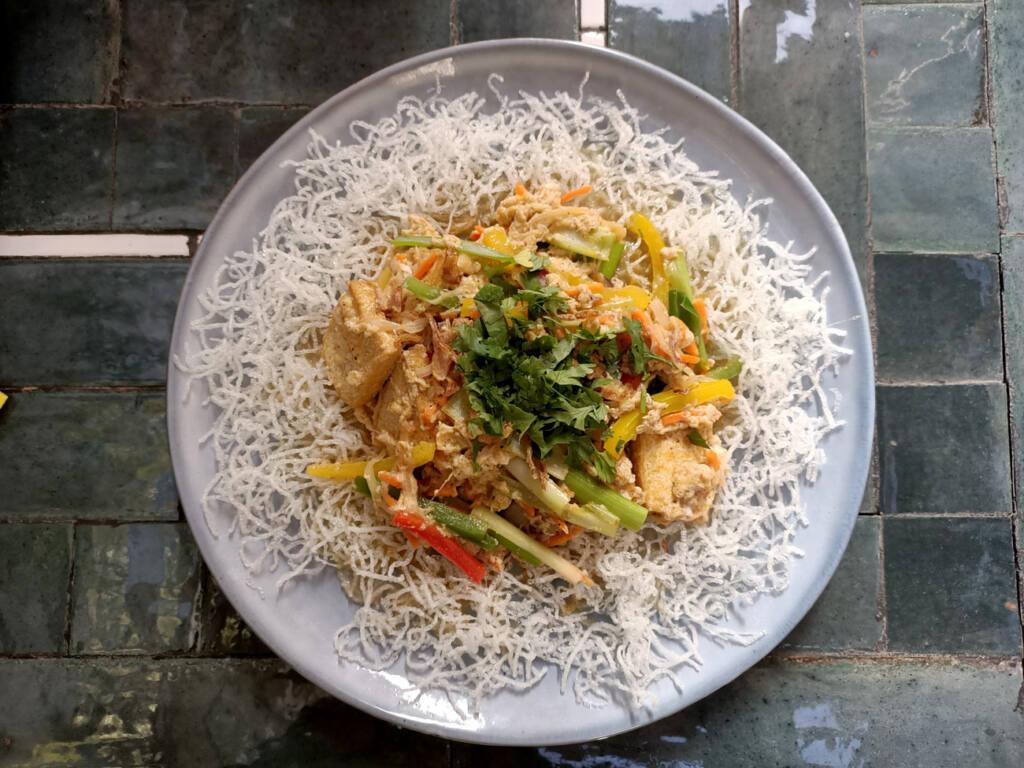 Gingembre, restaurant vietnamien à Marseille : plat