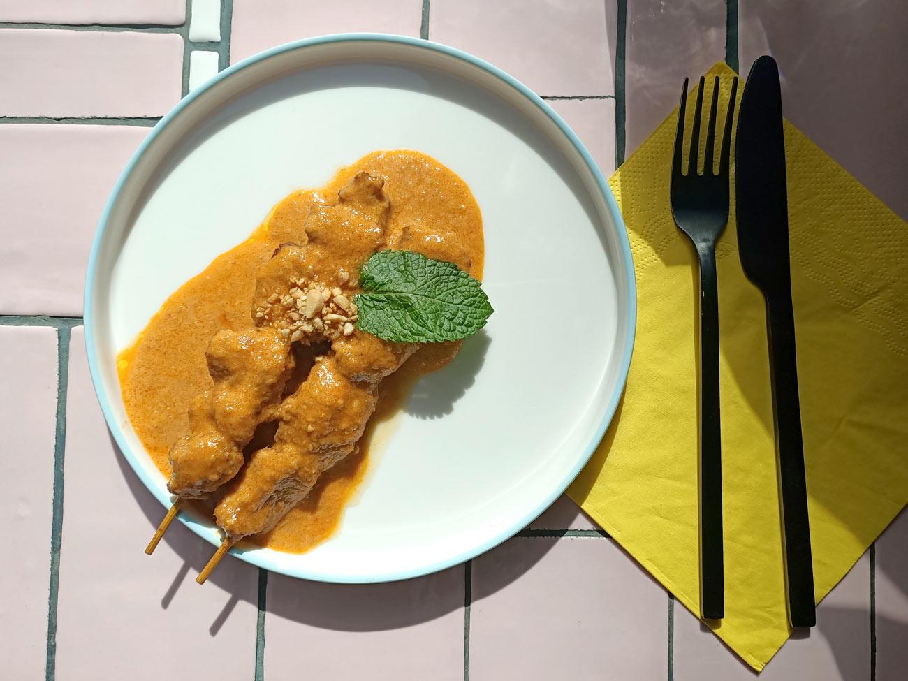 Gingembre, restaurant vietnamien à Marseille : sbrochettes