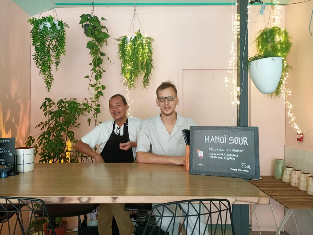 Gingembre, restaurant vietnamien à Marseille : Aurélien et Tony