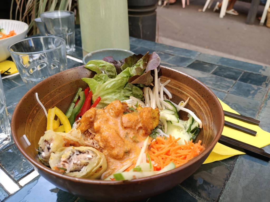 Gingembre, restaurant vietnamien à Marseille : bo-bun
